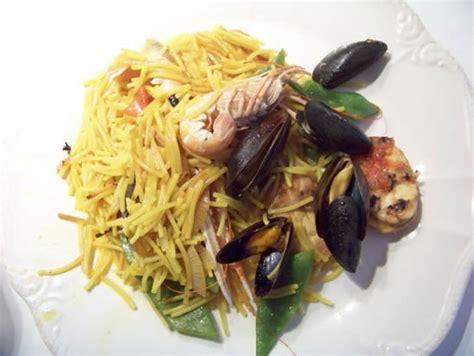 cuisine pied noir espagnole fideua de la paella aux pâtes