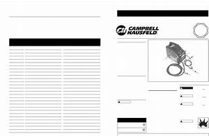 Campbell Hausfeld Welder Wf2050 User Guide
