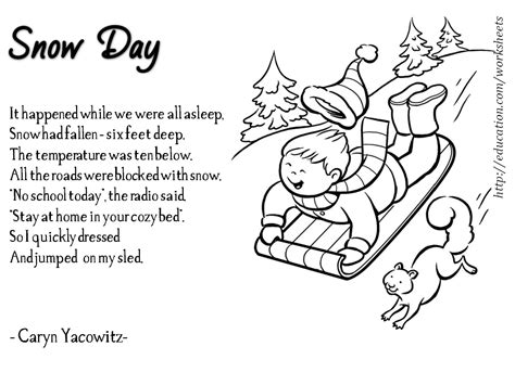 enjoy teaching winter poems part 1 712 | Slide1