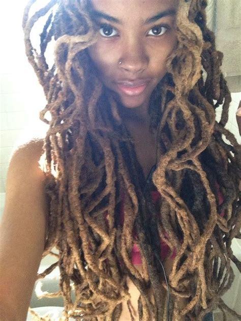 dreadlocks  black women hairstylo