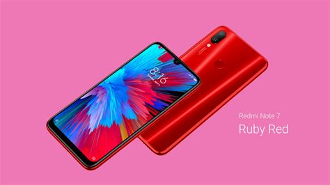 this is the xiaomi redmi note 7 and note 7 pro if