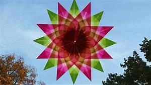 Sterne Aus Papier Falten : sterne zu weihnachten basteln fenstersterne aus transparentpapier youtube ~ Buech-reservation.com Haus und Dekorationen