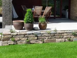 Terrasse Tiefer Als Garten : nabbefeld schages garten und landschaftsbau terrassenmauer ~ Bigdaddyawards.com Haus und Dekorationen