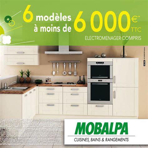 promotion cuisine schmidt nos bonnes affaires 6 cuisines mobalpa à moins de 6 000