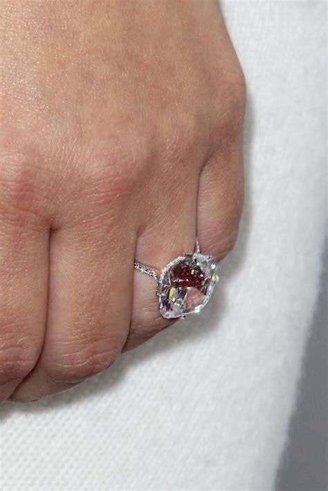 kim kardashians engagement ring bling pinterest