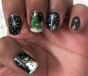 More christmas new year eve nail art designs