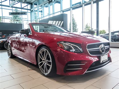 And it comes in more than one bodystyle, too. New 2019 Mercedes-Benz E53 AMG 4MATIC+ Cabriolet Convertible in Kitchener #38706D | Mercedes ...