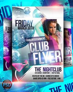 Club Flyer PSD Templates by ImperialFlyers on DeviantArt