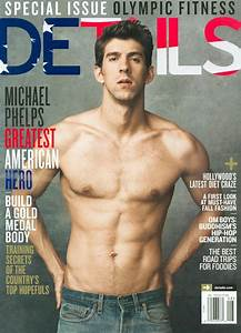 Michael Phelps Covers Details Magazine 01 Male Celeb News