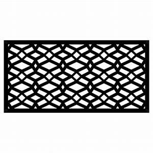 Panneau Décoratif Extérieur : panneau d coratif d 39 ext rieur celtic 2 39 x 4 39 noir rona ~ Premium-room.com Idées de Décoration