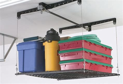 Hyloft Heavy Duty Ceiling Storage Unit by Height Of Garage Storage Absolutiontheplay Com