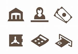 Free Bank Icons Vector - Download Free Vector Art, Stock ...
