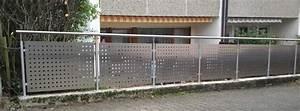 Zaun Inkl Montage : zaun aus edelstahl lochblech ~ Watch28wear.com Haus und Dekorationen