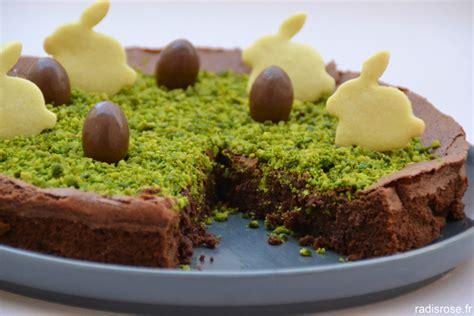 plat a cuisiner facile et rapide fondant au chocolat pour lapin de pâques radis