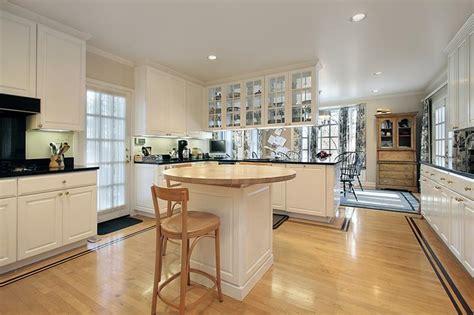charming kitchens  light wood floors