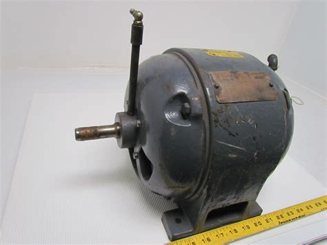 Electric Motor Frame by Ge General Electric 5k203 3ph 1hp 110v Vintage Motor 1720