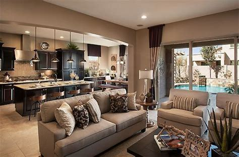 Ideas For Open Living Room And Kitchen by Living Room Kitchen Open Concept With Light Wood Floor