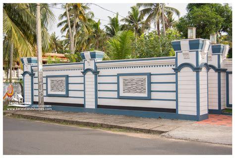compound wall gate design keralareal estate kerala free