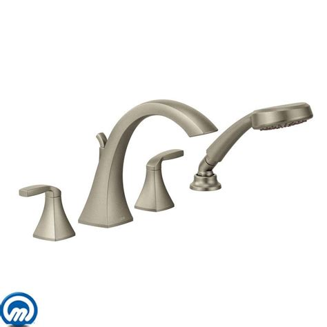 Moen Voss Faucet Brushed Nickel by Faucet Com T694orb In Oil Rubbed Bronze By Moen