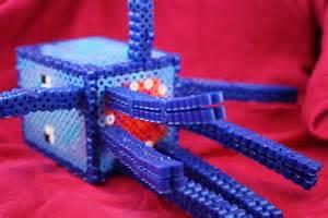 Perler Bead Minecraft Squid