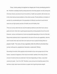 Sample Essay For Graduate School Admission Healthy Food Essay Ielts  Music Appreciation Essay Position Paper Essay also Arguments Against Abortion Essay Healthy Eating Essays Fit College Essay Healthy Food Essay Ielts  Henri Matisse Essay