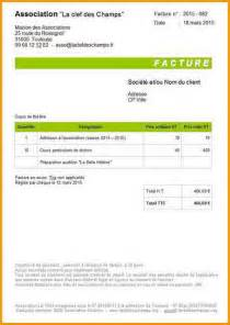 Template For Invoice In Excel 8 Modèle De Facture Word Lettre Administrative