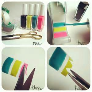 Make your own nail stickers art