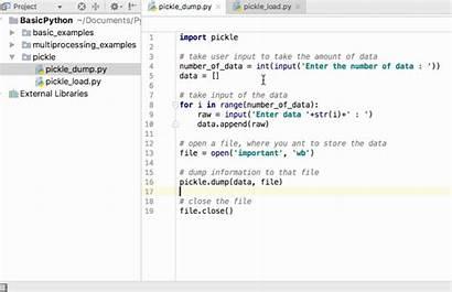 Python Pickle Example Dump Load Data Binary