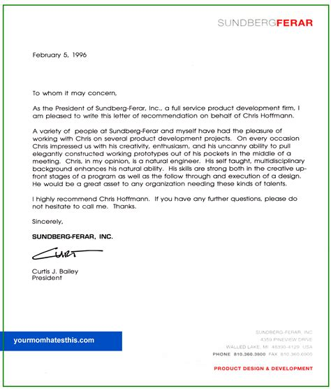 sle of personal reference letter sle personal letter teacheng us