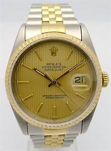 Rolex Uhr Herren Gold : rolex datejust stahl gold herren automatik chronometer ref 16233 von 1993 ebay ~ Frokenaadalensverden.com Haus und Dekorationen