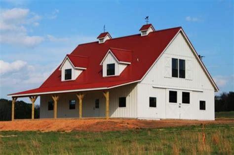 metal buildings converted  homes   house