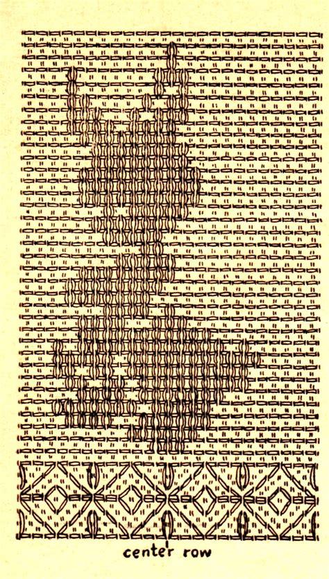 huck weaving instructions  design patterns vintage