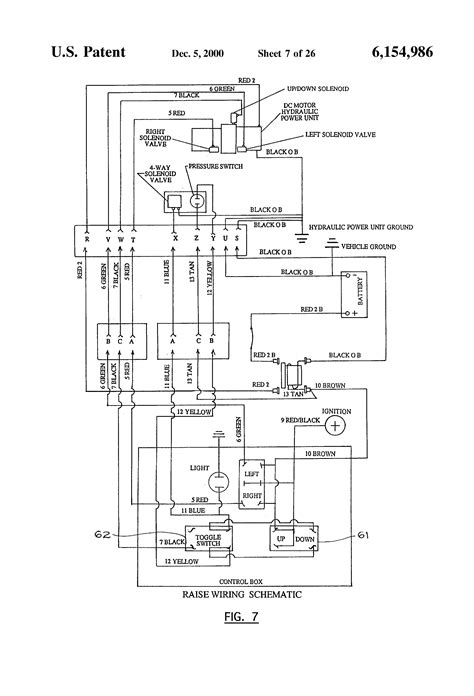 western unimount wiring diagram plow side