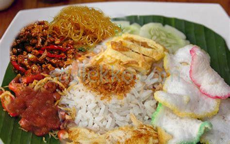 resep nasi uduk gurih  pulen resep masakan