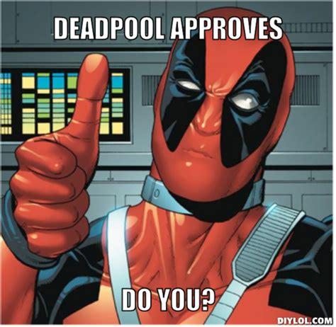 Deadpool Memes - deadpool approves deadpool marvel comics know your meme