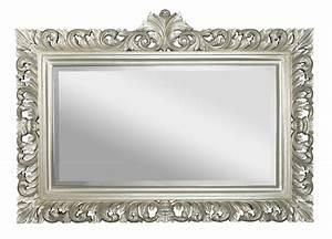 Spiegel 60 X 40 : spiegel barok zilver rofra home ~ Bigdaddyawards.com Haus und Dekorationen