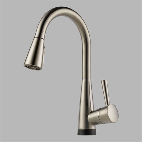 brizo faucets kitchen brizo 64070lf ss venuto single handle kitchen faucet with