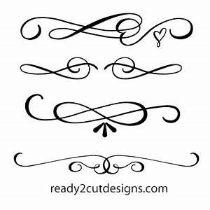 Calligraphy swirls - interior4you