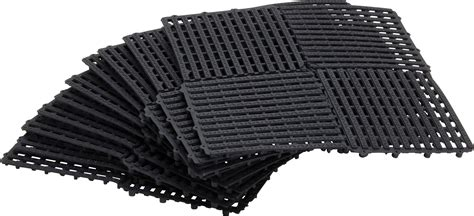 10 pc easy tile multy tile interlocking drainage tile