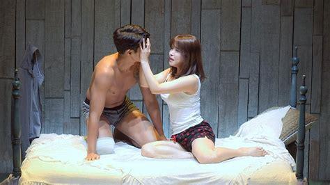 풀영상 파격노출 연기 조동혁 연극 미친 키스 프레스콜 Cho