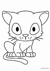 Cat Coloring Printable Anime Cool2bkids Sassy sketch template