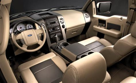 2008 ford f150 interior car and driver