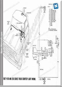 Ford F100 1967 Electric Diagram