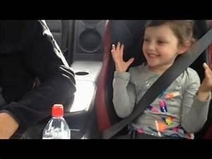 Little Girl's Reaction To Dad Speeding In Nissan GT-R Is ...