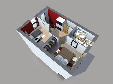 plan maison moderne 3 chambres plan maison 65m2 2 chambres gratuit plan n 51 univia