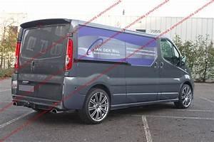 Piece Renault Trafic 2 : vauxhall vivaro renault trafic barn doors spoiler ebay ~ Maxctalentgroup.com Avis de Voitures