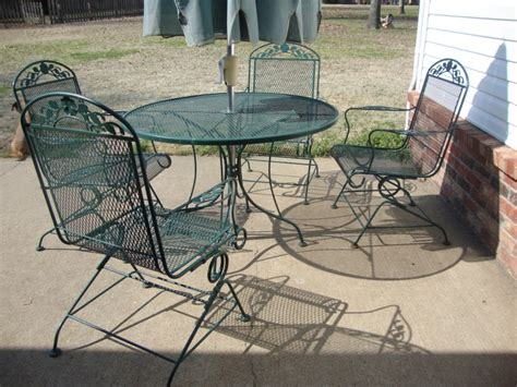patio metal patio table design ideas modern