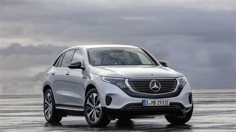 mercedes benz unveils eqc suv  electric future