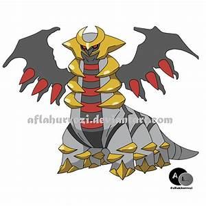 Pokemon Giratina by aflakhurrozi on deviantART