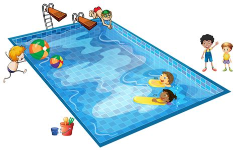 Swimming Pool Clipart Clipart Swimming Pool Pencil And In Color